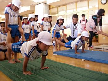 山口県防府市の幼稚園 玉祖幼稚園(たまのやようちえん)カリキュラム おけいこ体育