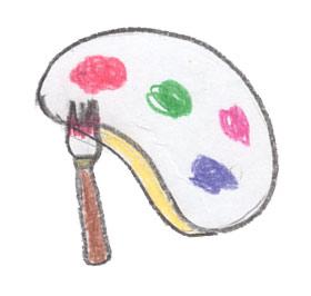 山口県防府市の幼稚園 玉祖幼稚園(たまのやようちえん)カリキュラム 絵画造形