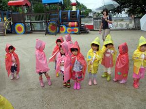 山口県防府市の幼稚園 玉祖幼稚園(たまのやようちえん)子育て支援 にこにこ元気っ子クラブ 風景