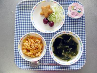 山口県防府市の幼稚園 玉祖幼稚園(たまのやようちえん)施設案内  おいしい給食