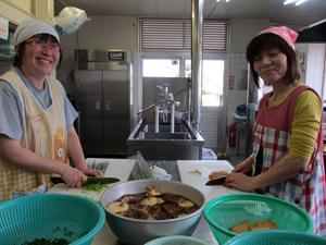山口県防府市の幼稚園 玉祖幼稚園(たまのやようちえん)カリキュラム 食育 給食室完備